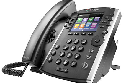 Polycom VVX 400 Mid-Range Business Media Series